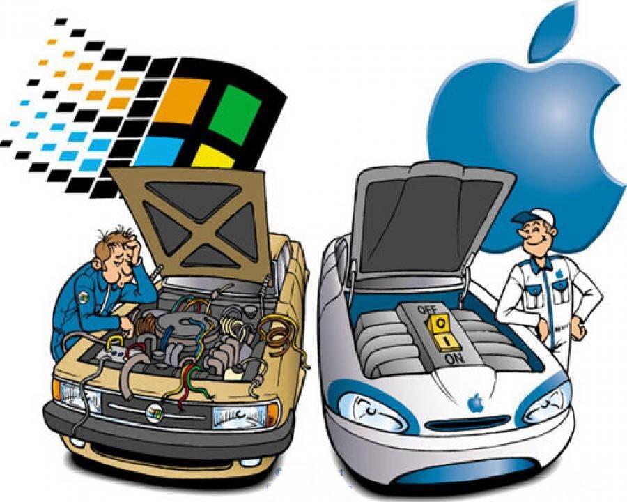 Apple Vs Microsoft Men Prefer