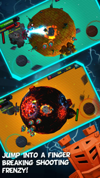 In a Space iPhone game