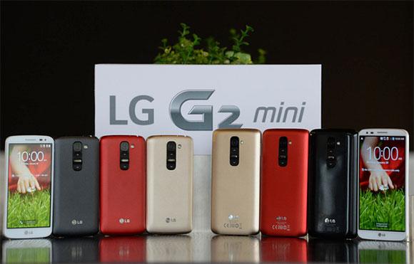 LG announces the mid-range LG G2 Mini