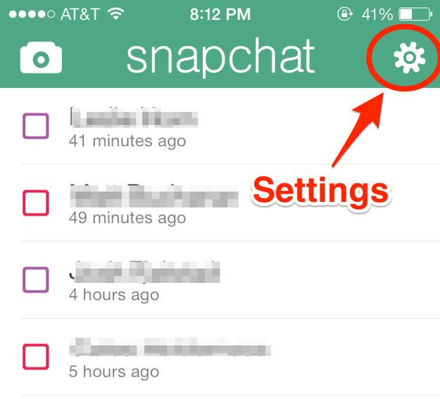 How to get big white letters in snapchat