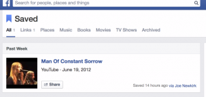 Facebook Builds Upon Read-It-Later With Save Button