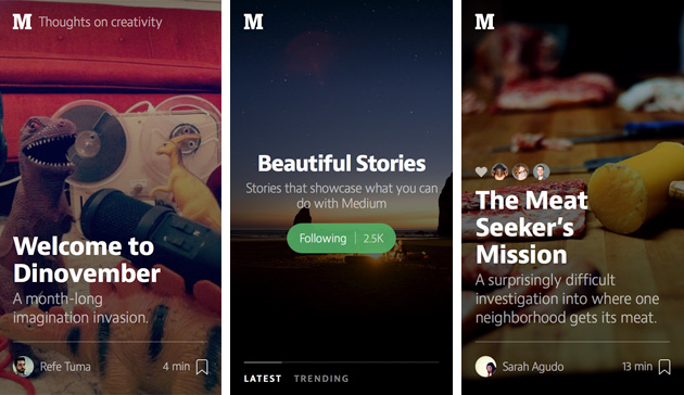 Medium Launches iPhone App For Reading, But Not Writing