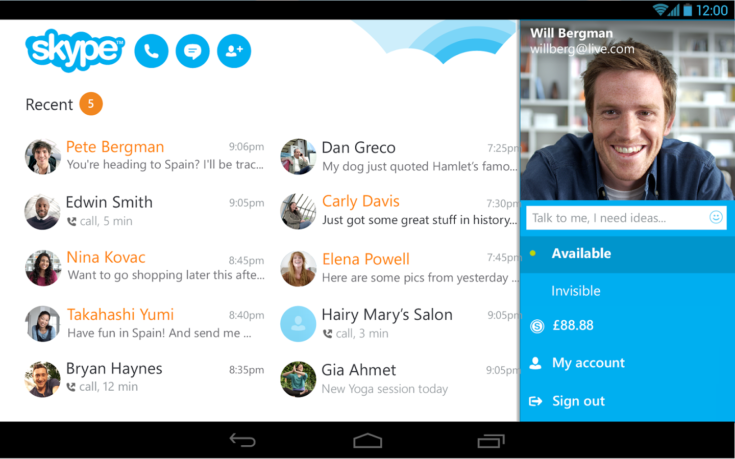 Skype For Android Update Fixes Battery Drain