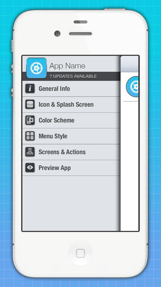 make your own iPhone app