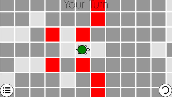Encircle the Turtle iPhone Game