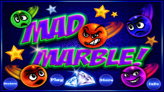 Mad Marble iPhone game