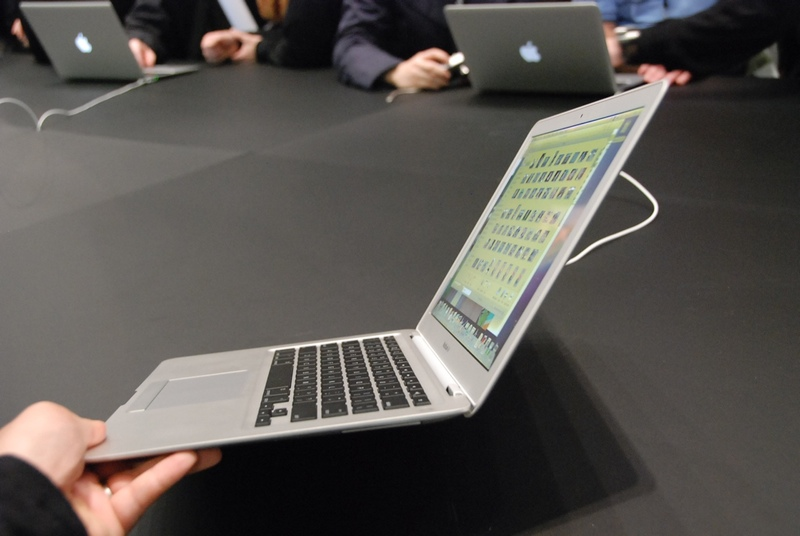 MacBook Air is thin