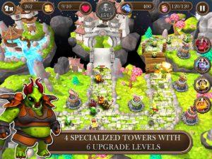 Brave Guardians HD iPad Game
