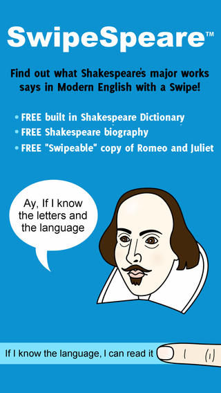 SwipeSpeare iPhone App
