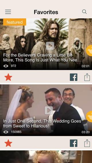 Faith.com iPhone App Review: Funny, Inspirational Videos