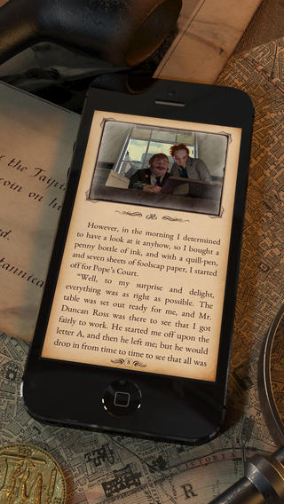 SHERLOCK: Interactive Adventure iPhone App Review