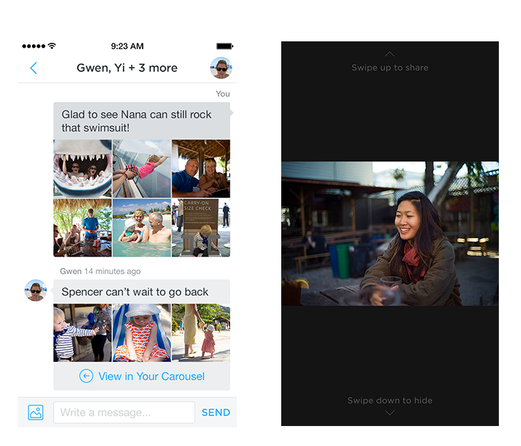 Dropbox Introduces Photo Sharing And Storage App 'Carousel'