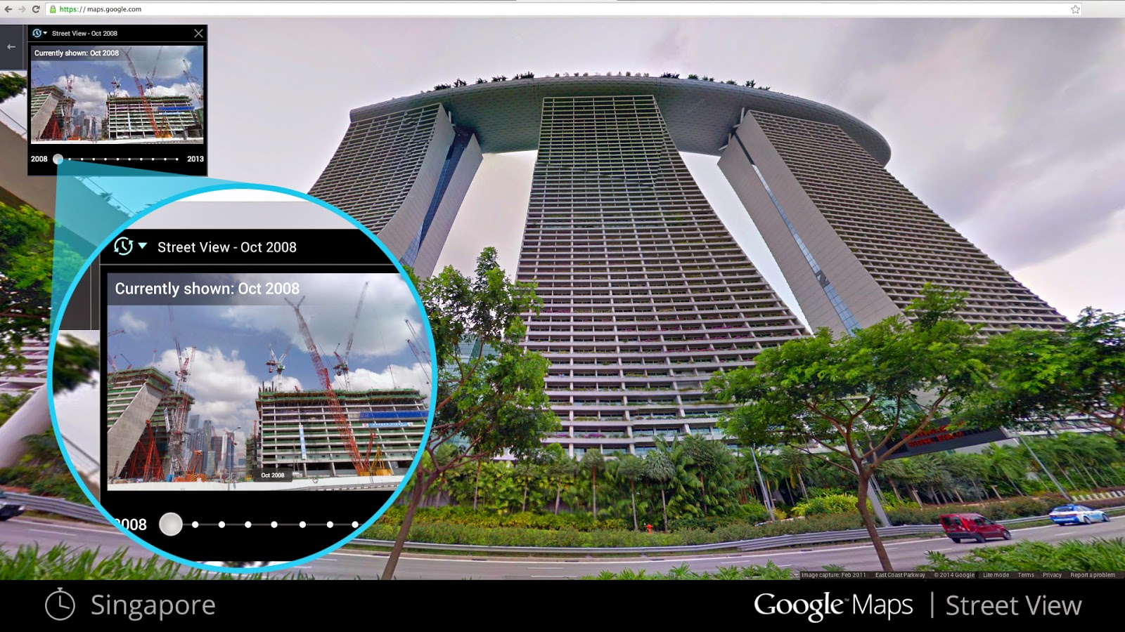 Google Street View Is Now A Time Machine