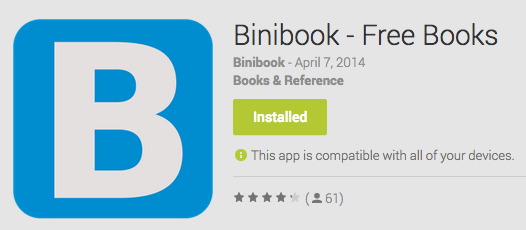 Binibook - Free Books Android App Review