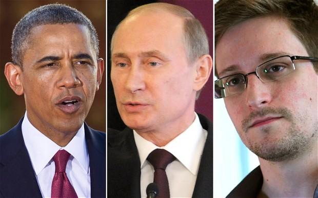Snowden Not Satisfied With Putin's Mass Surveillance Statement