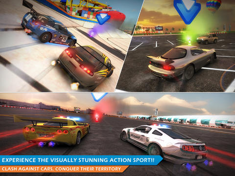 Hybrid iPad Game Review: Fast-Paced Racing Action