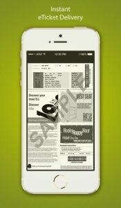 Razorgator eTickets iPhone App