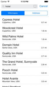 WikiPlaces iPhone App