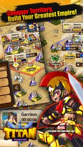 TITAN: Olympus War iPhone Game