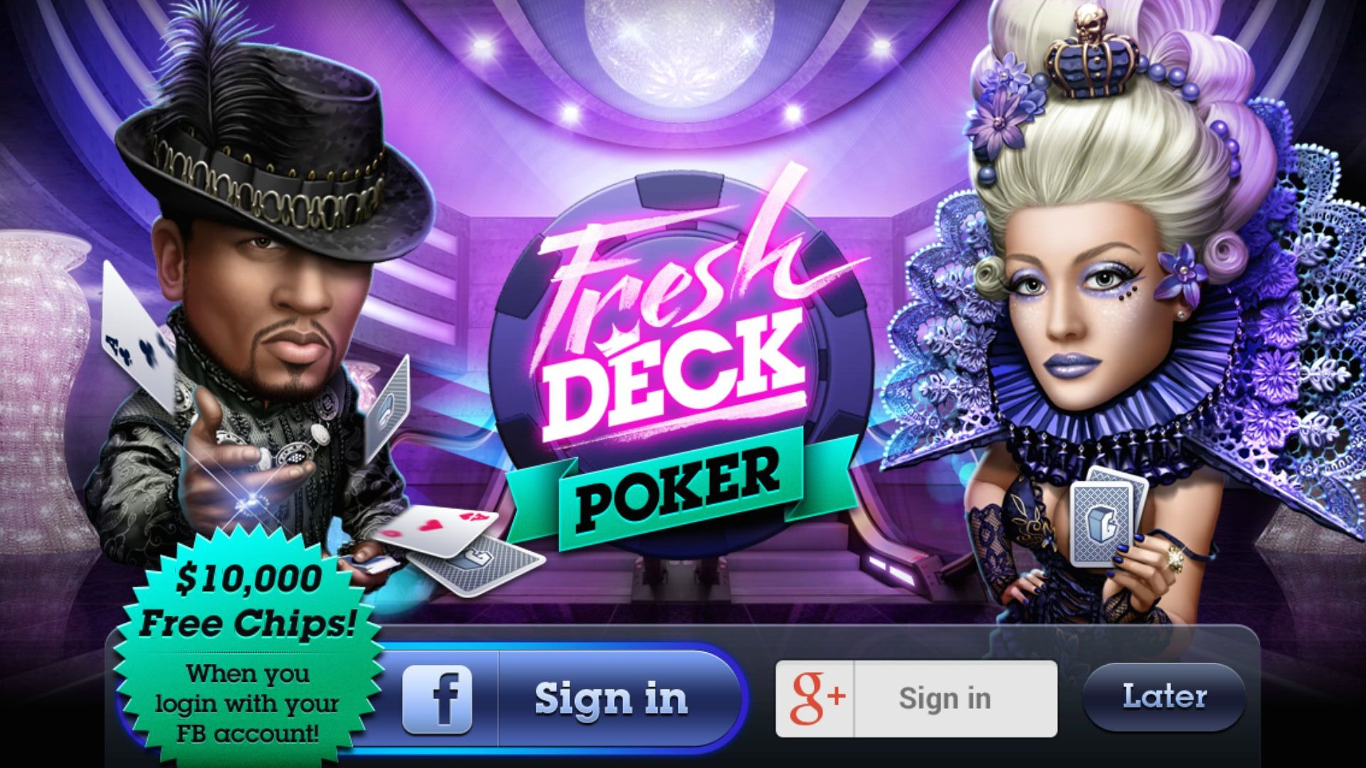 Fresh Deck Poker - Live Holdem Android App Review