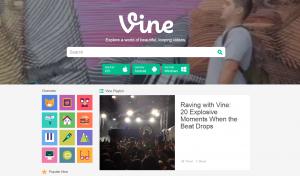 Vine Updates Desktop Site, Introduces Vine TV