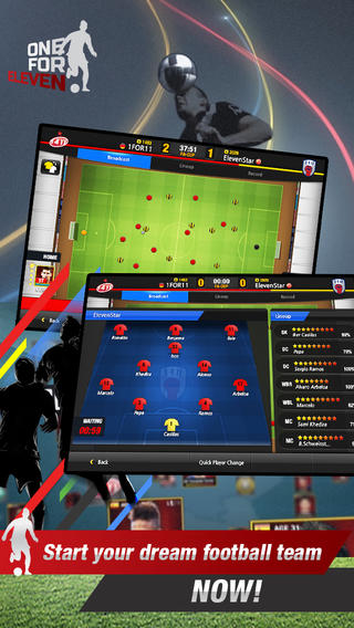 Actoz Soft Launches Football Simulator One for Eleven