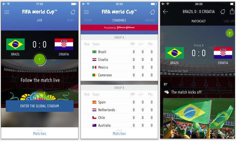 Whether you have front row seats or you'll be watching from afar, here are five fun FIFA World Cup apps and six sexy soccer games to keep you in the moment