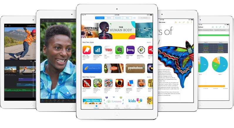 New iPad Air Specs to Include A8, 8MP Camera, Touch ID
