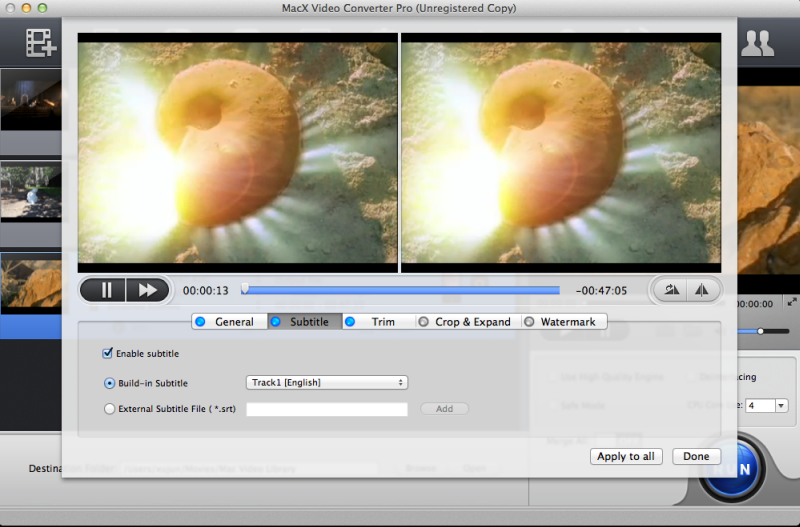 MacX Video Converter Pro Mac App