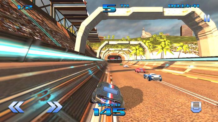 Formula Force Racing iOS Game Review