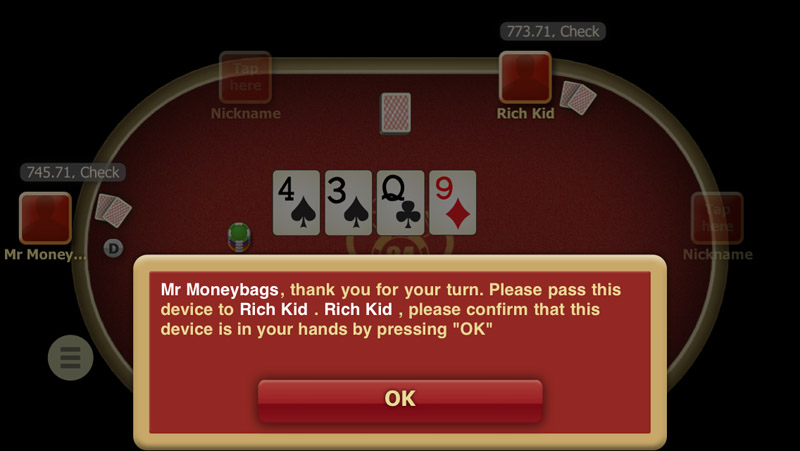 Poker Anyplace iOS Game Review - A Few Cards Shy Of A Full Deck