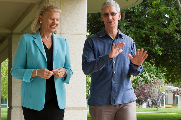 Apple and IBM have jointly announced a whole lot of enterprise blah, blah, blah plus a bucketful of corporate blah, blah, blah. This is exciting stuff…