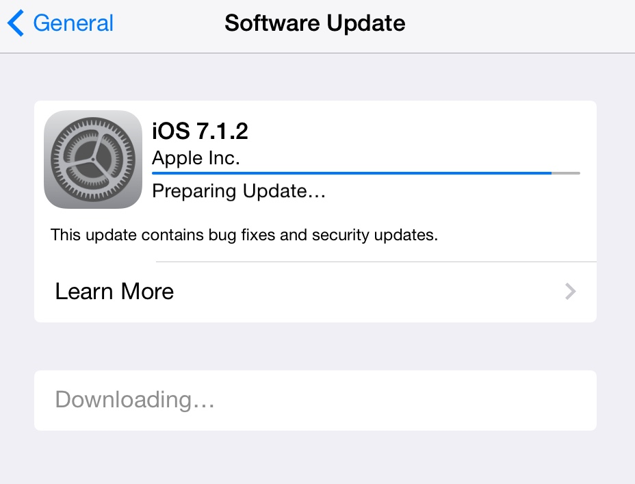 iOS 7.1.2, OS X 10.9.4 Updates Now Available