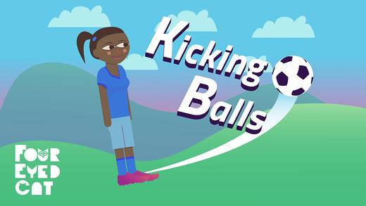 Kicking Balls iPhone Game Review