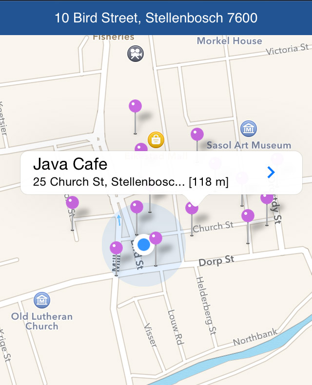Places Around iOS App Review