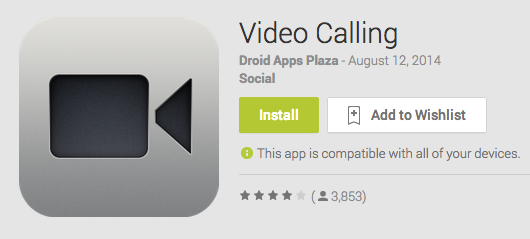 Video Calling Android App Review