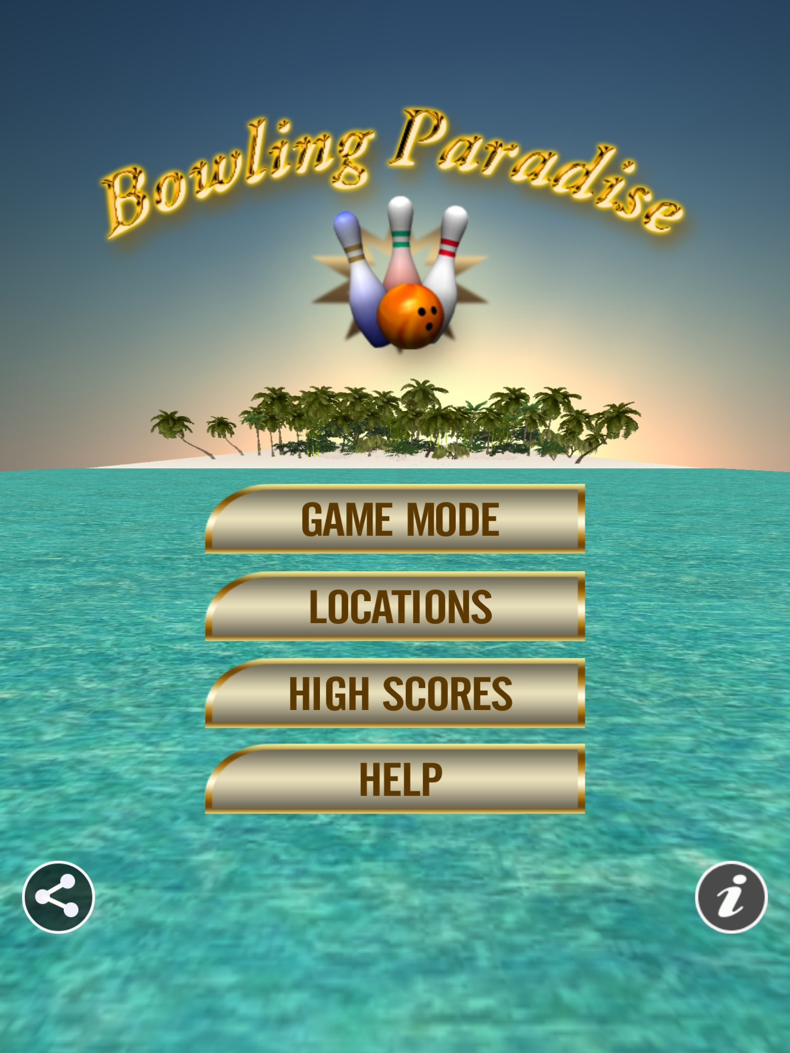 Bowling Paradise 2 Pro iOS Game Review