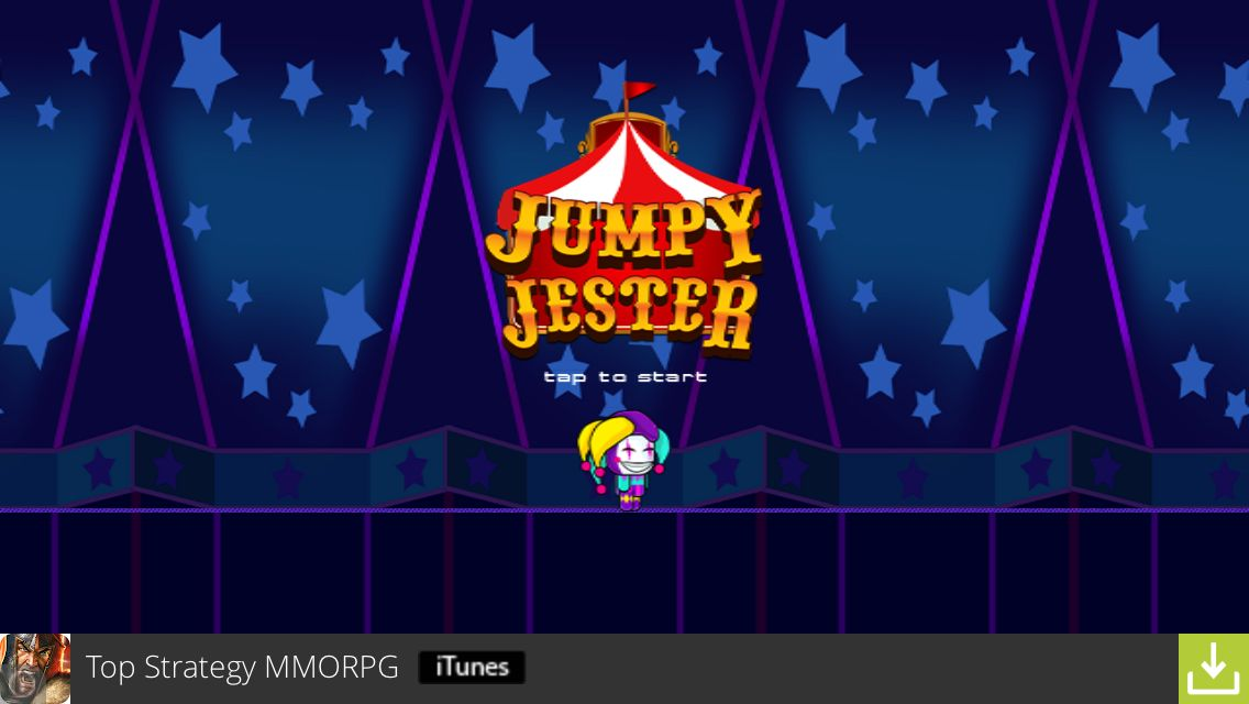 Jumpy Jester iOS Game Review