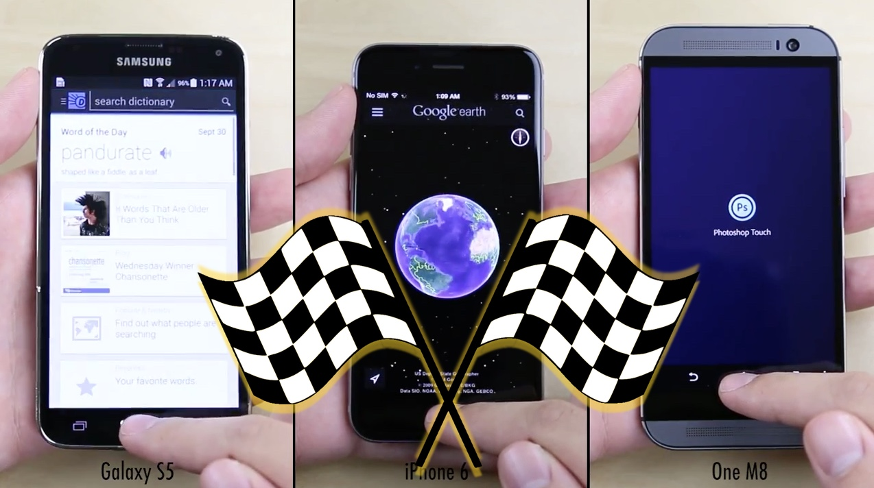 iPhone 6 Speeds Past Galaxy S5, One M8 in Load Test
