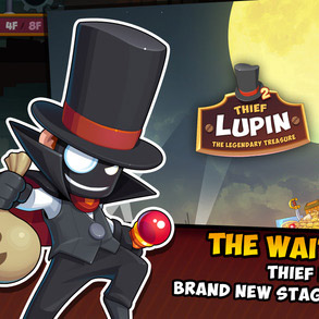 Thief Lupin 2 iOS Game Review