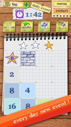 The Incredible Tiles 2048 iOS Game Review