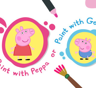 Peppa's Paintbox iOS Game Review