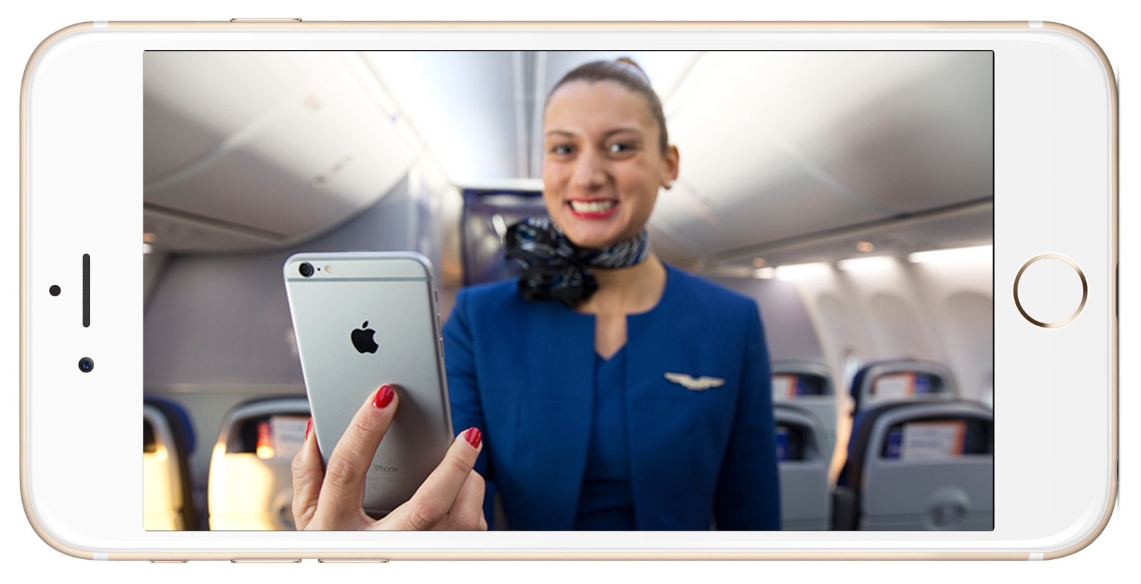 iPhone 6 Plus Now Flying the Friendly Skies