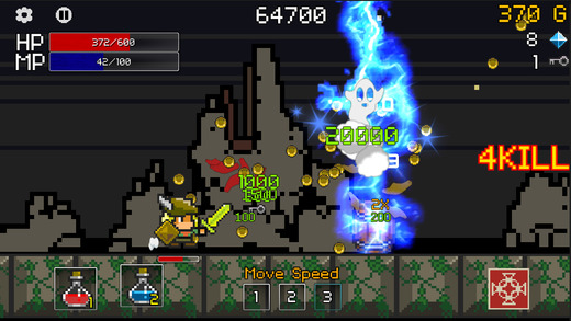 Buff Knight RPG Runner iphone app review