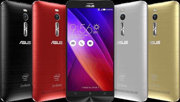 ASUS ZenFone 2 has rear key, looks like an LG G3 clone