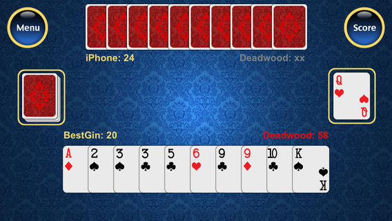 Best Gin Rummy iOS Game Review