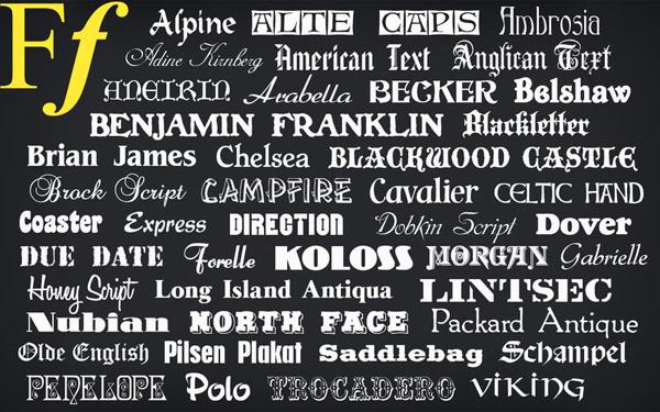 Free Fonts 1