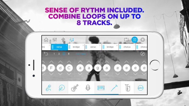 Music Maker Jam iPad App