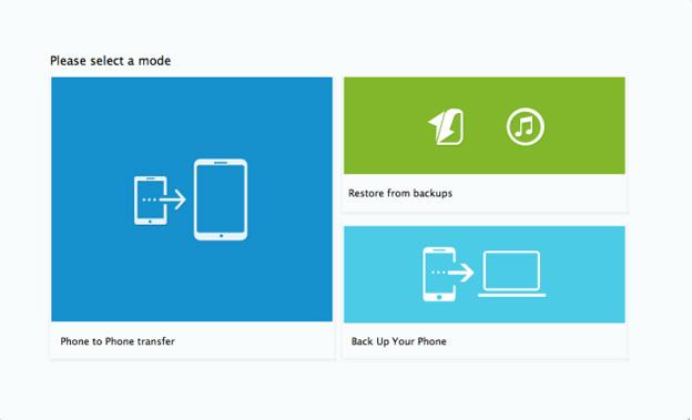SynciOS Mobile Transfer 1