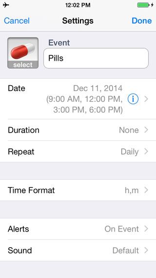 Reminder & Countdown App